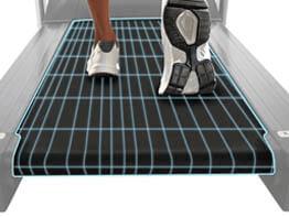 tamaño superficie de carrera cinta de correr