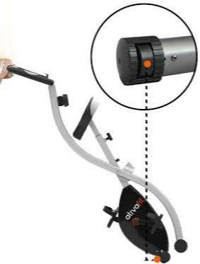 bicicleta estatica ruedas de transporte