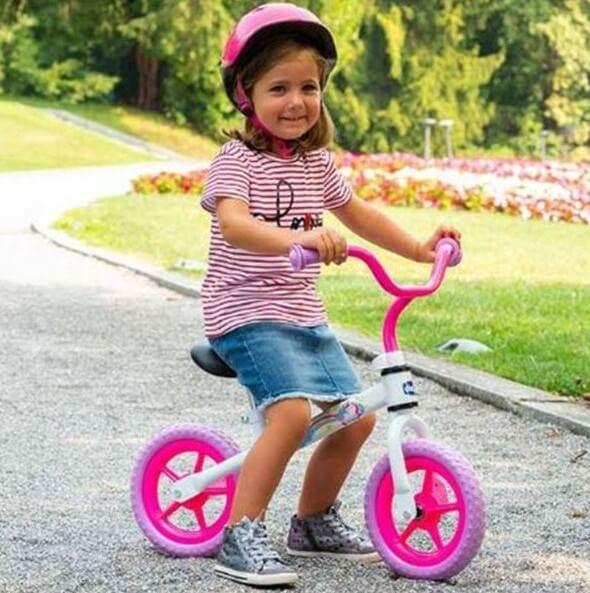 chicco first bike rosa