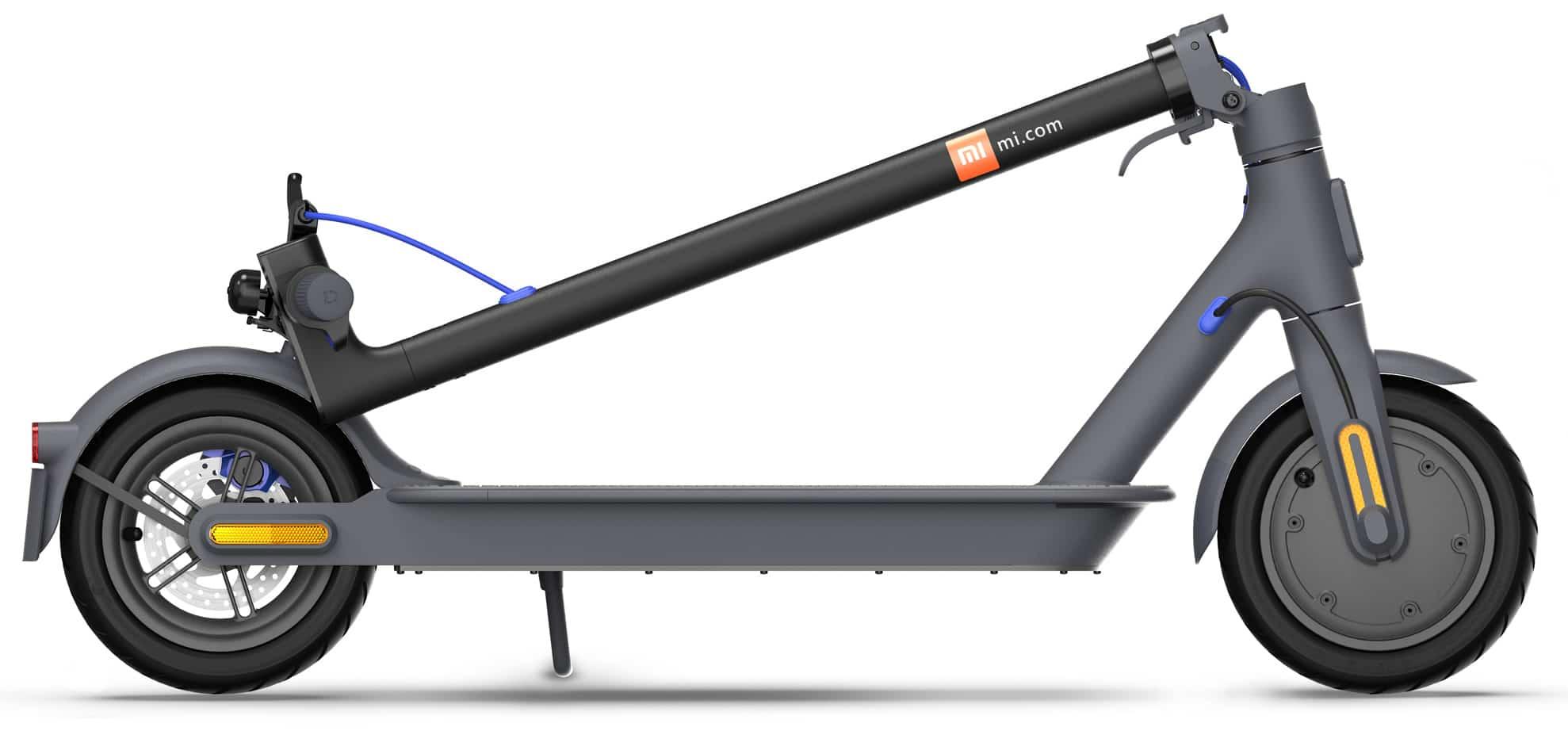 xiaomi mi electric scooter 3 black folded